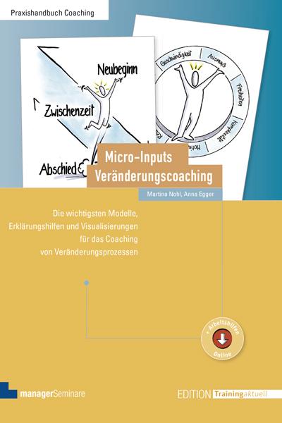Buch Anna Egger Microinputs Veränderungscoaching